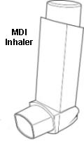 MDI inhaler