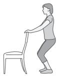 Knee squats