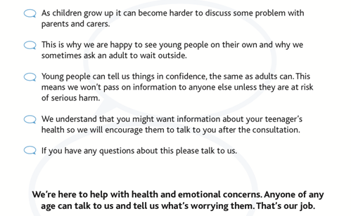 RCGP parents leaflet page 2